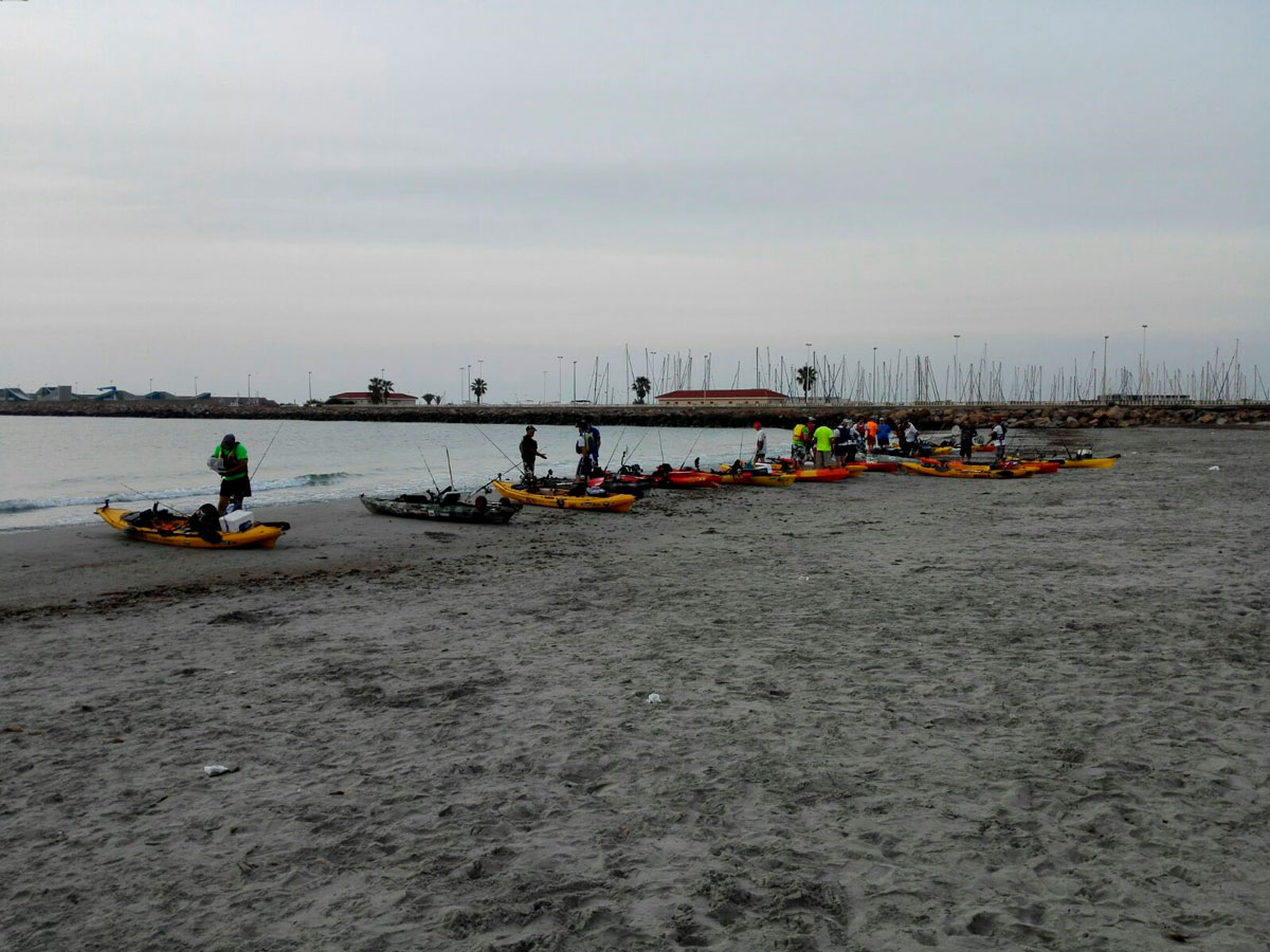 Pesca, Kayak Fishing Levante